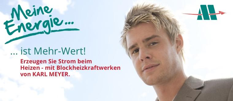 Karl Meyer Energiesysteme Blockheizkraftwerke