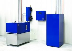 Das Foto zeigt eine komplette Installation der Produkte von EC, die die Karl Meyer Energiesysteme GmbH als Premium Partner anbietet.
