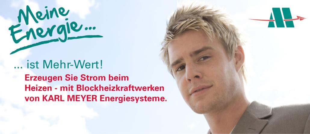 Karl Meyer Energiesysteme: Heizen und Strom produzieren