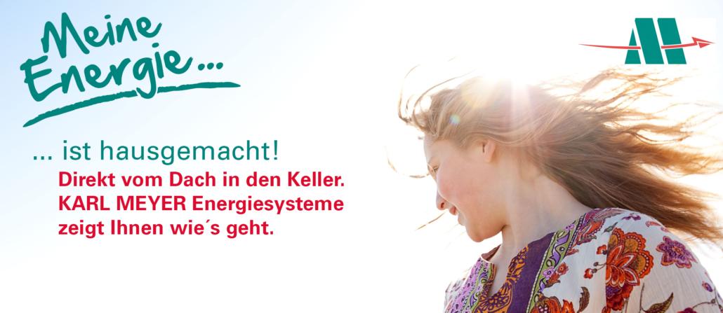 Karl Meyer Energiesysteme: Energie selbst erzeugen